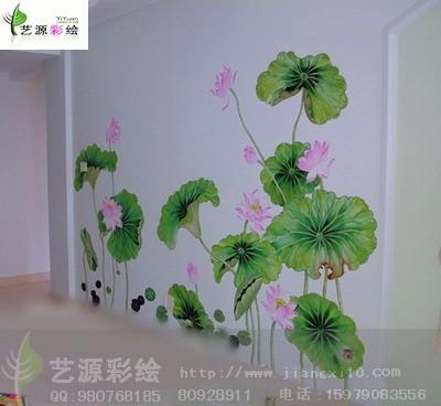 江西南昌墙体彩绘国画系列