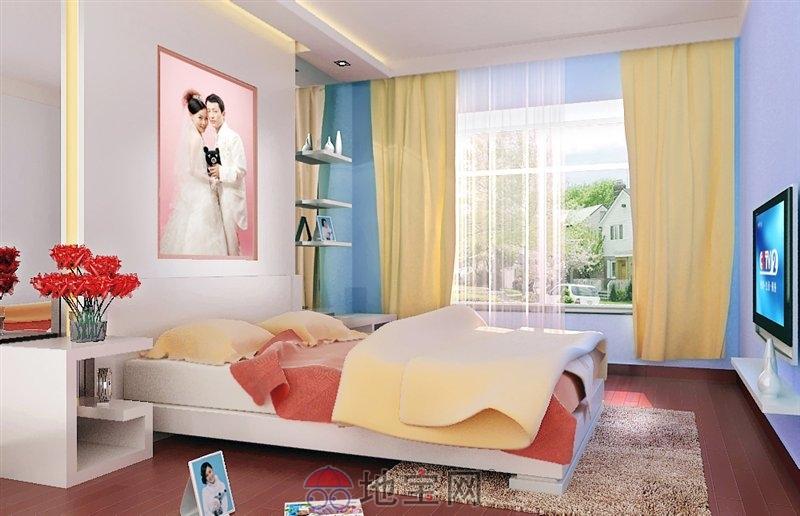 学生卧室刮瓷粉颜色搭配