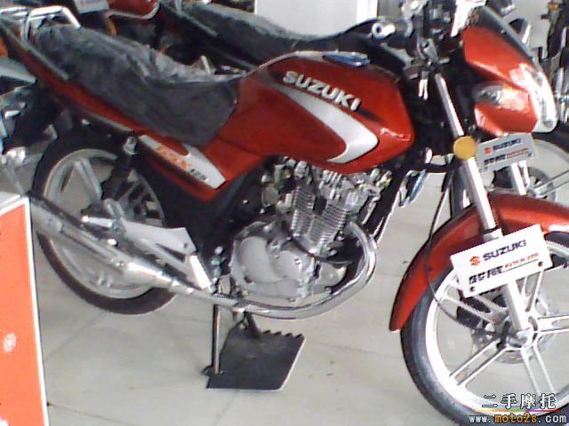 二手铃木王125摩托车图片 二手铃木王125摩托车图片大全 社会热点图