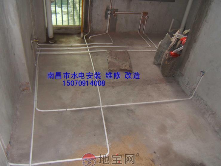 室内水电安装布线图图片大全 周师傅诚信水电安装图片
