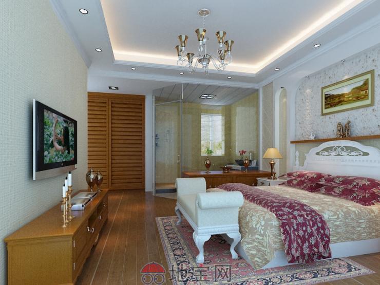 客厅欧式电视墙木工造型