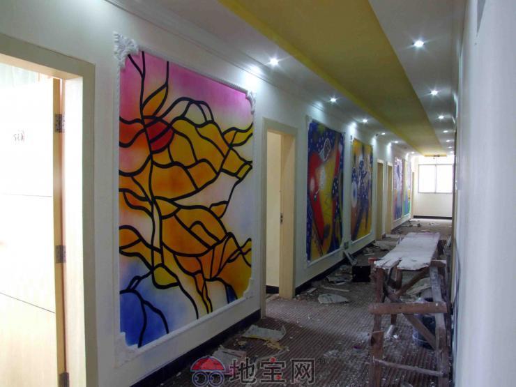 幼儿园走廊墙面彩绘