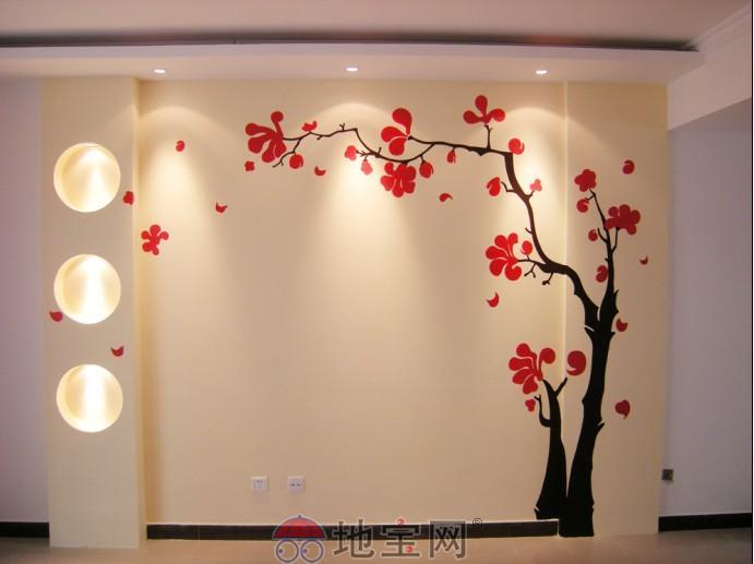南昌魅雅墙绘电视机沙发卧室餐厅墙面装饰